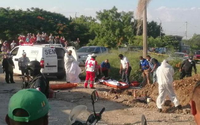 Trágica muerte de trabajadores de COMAPA