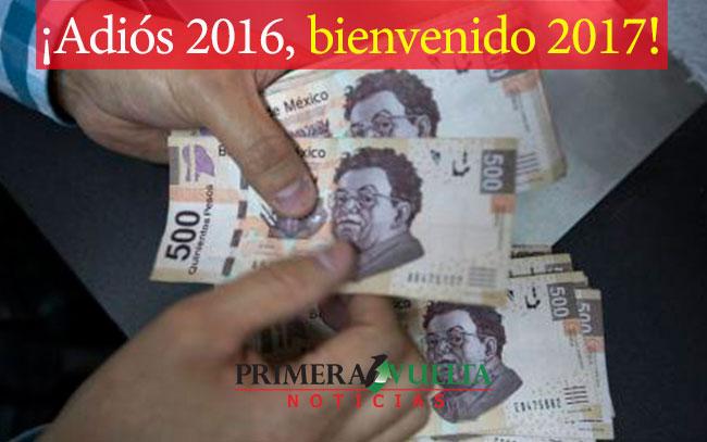 ¡Adiós 2016, bienvenido 2017!