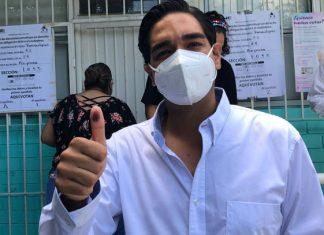Carlos Peña asegura que aventaja Morena