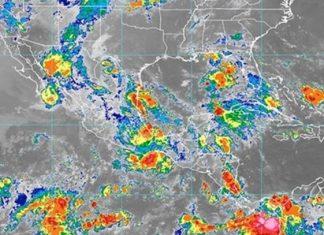 Persisten las lluvias fuertes en el país