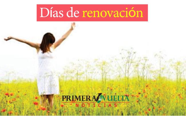 Días de renovación