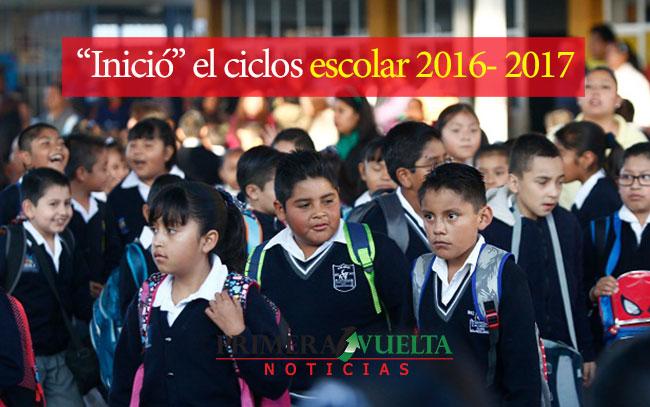 """""""Inició"""" el ciclo escolar 2016- 2017"""