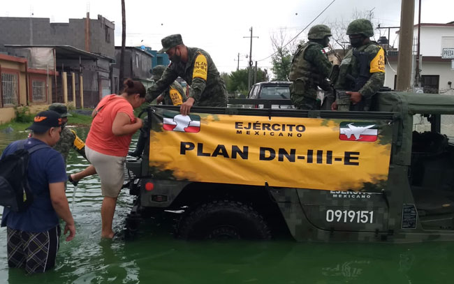 Aplican DN-III-E en Reynosa