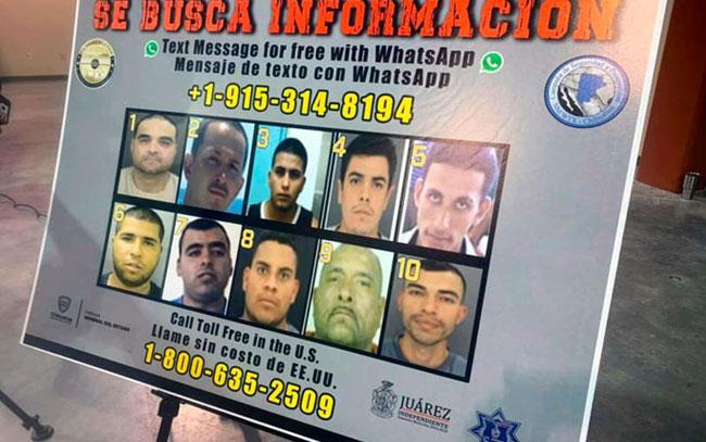 """Colabora México para encontrar a los """"más buscados"""" por Estados Unidos"""