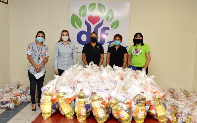 DIF Reynosa entregó diversos apoyos a Casa Hogar MAMI