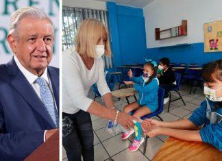 Defiende López Obrador urgente regreso a clases
