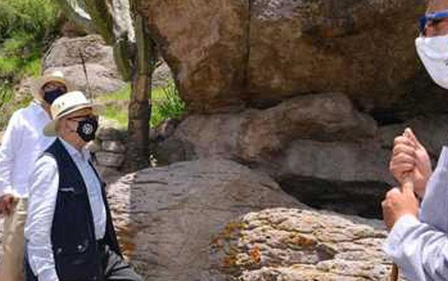 Duplica recorrido el sitio rupestre Arroyo Seco, en Guanajuato