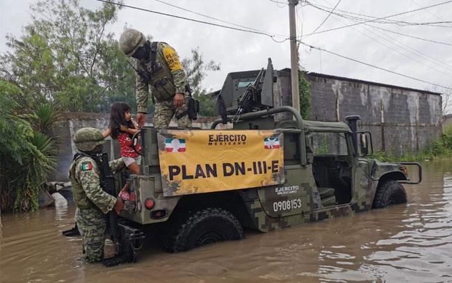 Ejército Mexicano aplica