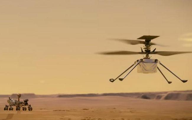 Ingenuity muestra un terreno intrigante en Marte