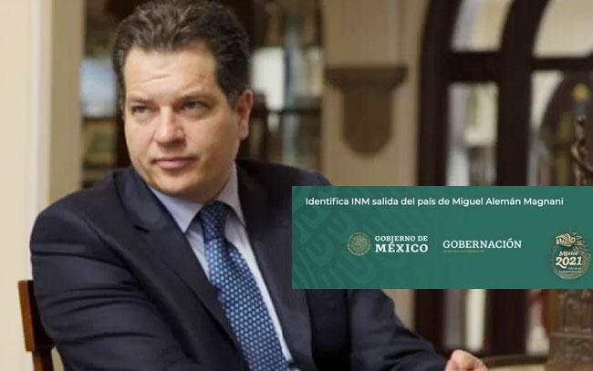 Emiten alerta migratoria a Miguel Alemán Magnani