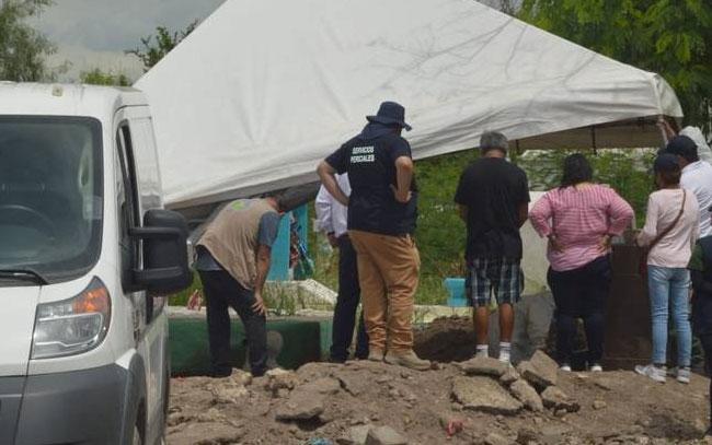 Encuentran 21 cuerpos en la fosa común del panteón Sagrado Corazón de Reynosa