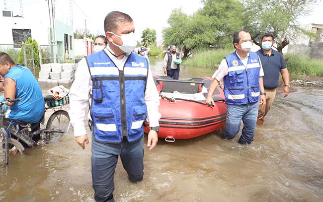 Gobierno del estado solicita declaratoria de emergencia en Matamoros