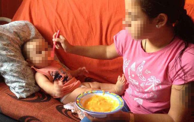 Grave situación de niñas madre en México