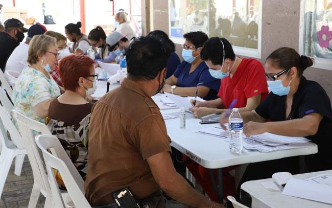 Hoy inició en Reynosa segunda dosis de vacuna anticovid