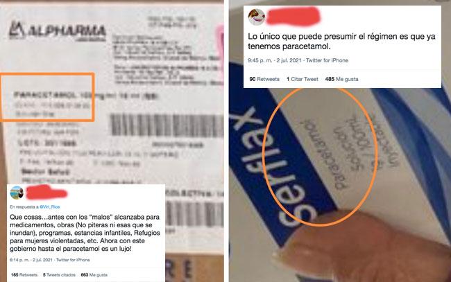 Insabi explota las redes con la compra de Paracetamol