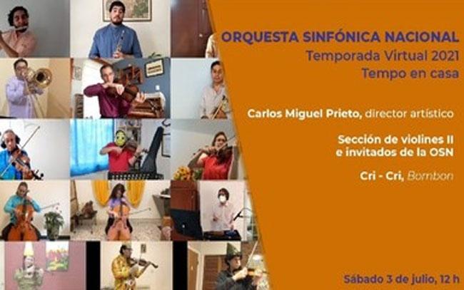 Interpretará la Orquesta Sinfónica Nacional Bombón I de Francisco Gabilondo Soler