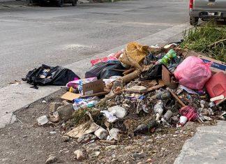 Invade de basura a Ciudad Victoria Pilar Gomez