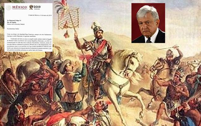 México sin disculpas por excesos en la Conquista española