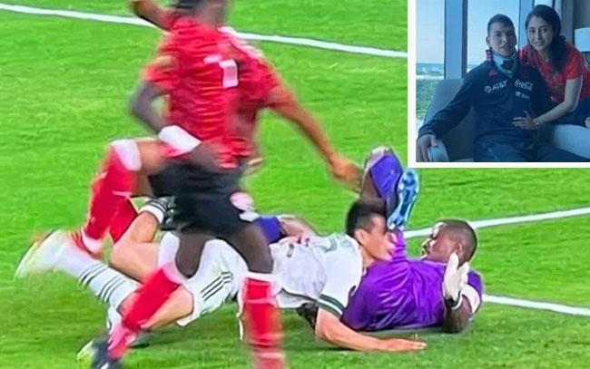Reaparece 'Chucky' Lozano tras su lesión contra Trinidad