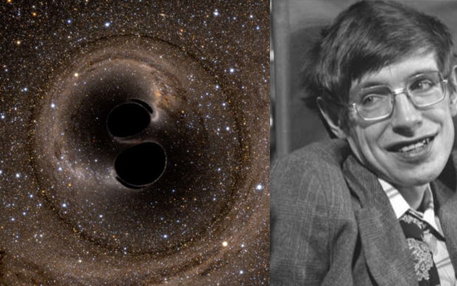 Se confirma predicción de Stephen Hawking sobre agujeros negros
