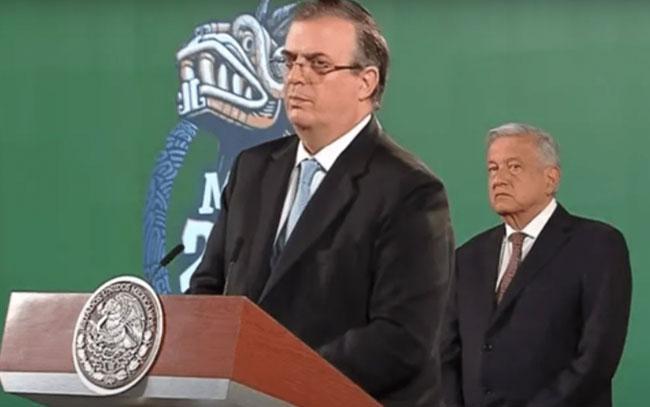 Se destapa Marcelo Ebrard para las presidenciales del 2024