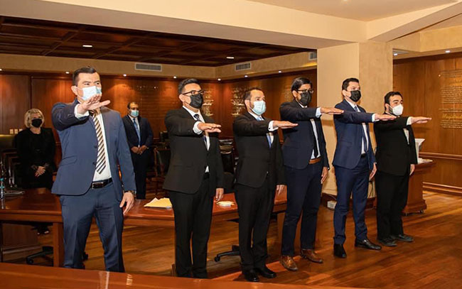 Se integran 6 nuevos juzgadores al Poder Judicial de Tamaulipas