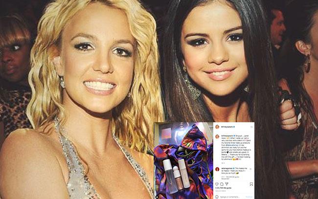 Selena Gomez sorprende a Britney Spears
