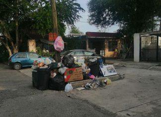 Siguen inundados de basura