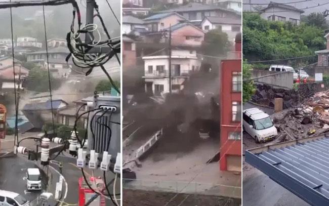 Suman cuatro muertos por alud en Japón