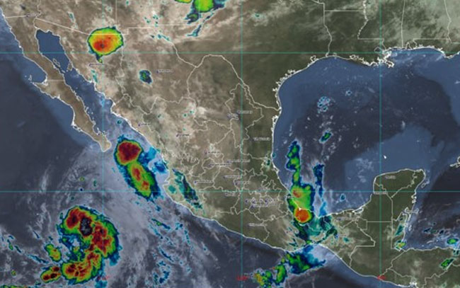 Se pronostican lluvias puntuales en varios estados