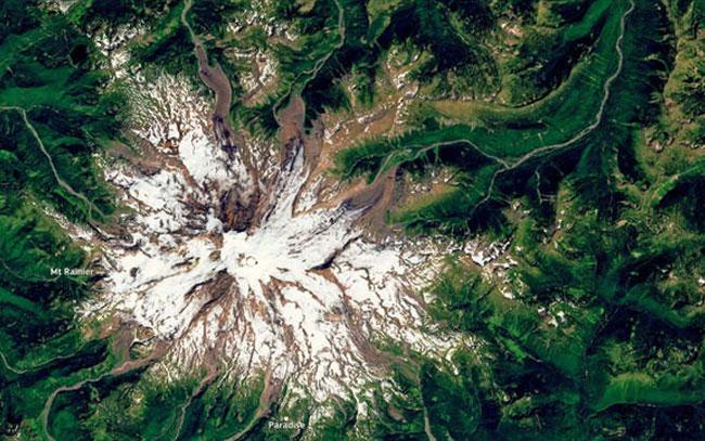 Satélite capta devastador derretimiento en glaciares