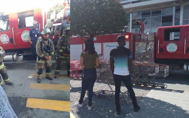 Efectúa PCyB de Reynosa simulacro de incendio