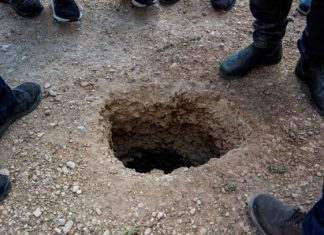 Escapan 6 palestinos de prisión israelí por túnel bajo lavabo