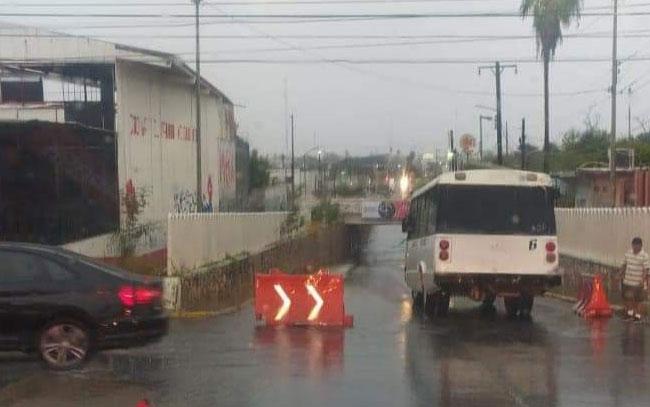 Lluvias no dejan daños en Reynosa