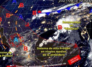 Se prevén lluvias para Nuevo León, Tamaulipas y San Luis Potosí