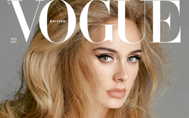 Adele impacta portada en Vogue