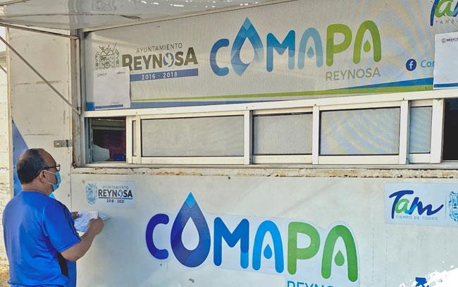 Amplia COMAPA hasta diciembre, condonación de recargos