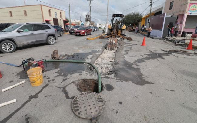 Continuará Gobierno de Matamoros con rehabilitación de pavimentos