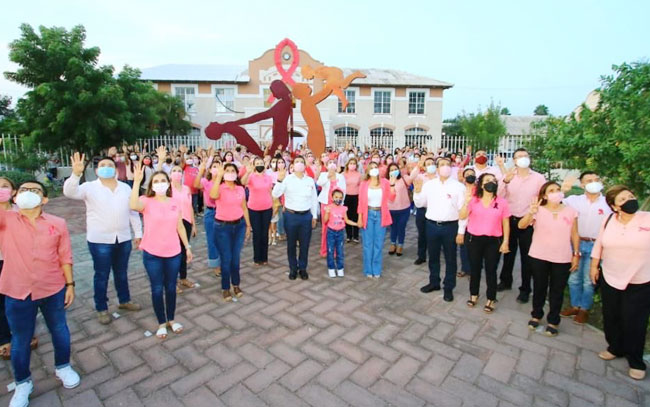 DIF Victoria activa campaña rosa de Lucha contra Cáncer de Mama