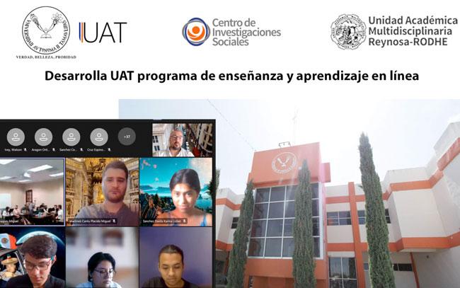rograma de aprendizaje colaborativo internacional en línea